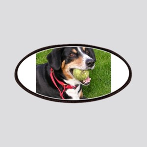 entlebucher mountain dog w ball Patches