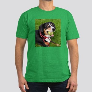 entlebucher mountain dog w ball T-Shirt