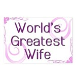 World's Greatest Wife Postcards (Package of 8)