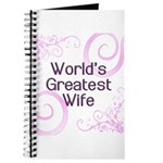 World's Greatest Wife Journal