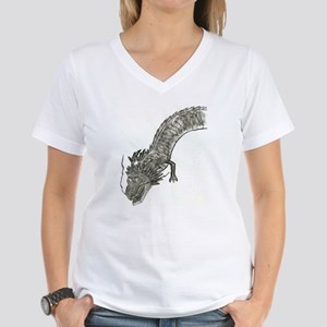 dragon2 Women's V-Neck T-Shirt