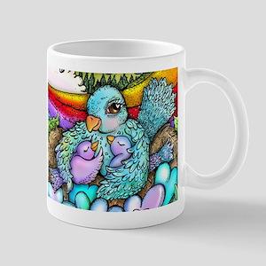 Momma Bird Mugs