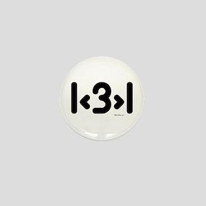 I love more than one (cute) Mini Button