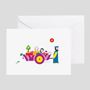 """Go Forward"" Passover Greeting Card"