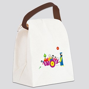 """""""Go Forward"""" Passover Canvas Lunch Bag"""