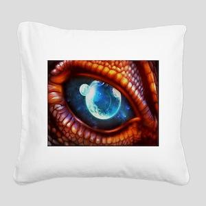 dragon eye 3.0 Square Canvas Pillow