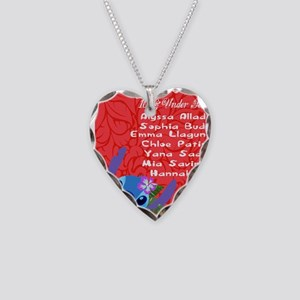 10 & Under Team Necklace Heart Charm