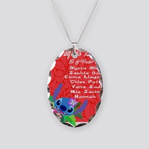 10 & Under Team Necklace Oval Charm