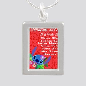 10 & Under Team Silver Portrait Necklace