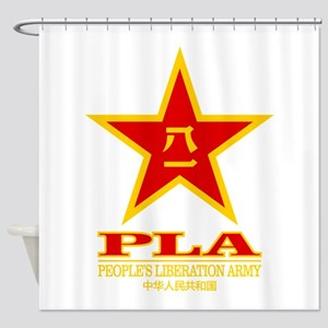 PLA (Peoples Liberation Army) Shower Curtain