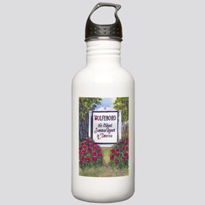 Wolfeboro NH Sign Stainless Water Bottle 1.0L