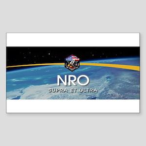 NROL-19 Launch Team Sticker (Rectangle)