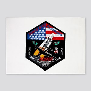 NROL-19 Launch Team 5'x7'Area Rug
