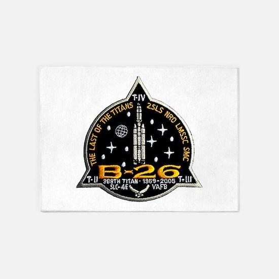 NROL-20 Launch Team 5'x7'Area Rug