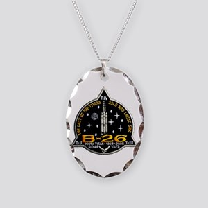 NROL-20 Launch Team Necklace Oval Charm