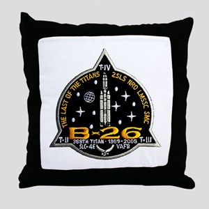 NROL-20 Launch Team Throw Pillow