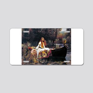 Waterhouse Lady Of Shalott Aluminum License Plate