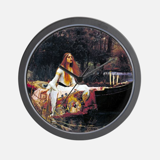 Waterhouse Lady Of Shalott Wall Clock