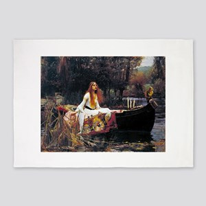 Waterhouse Lady Of Shalott 5'x7'Area Rug