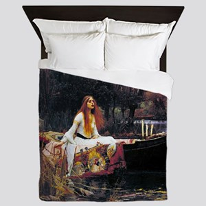 Waterhouse Lady Of Shalott Queen Duvet