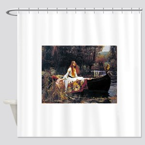 Waterhouse Lady Of Shalott Shower Curtain