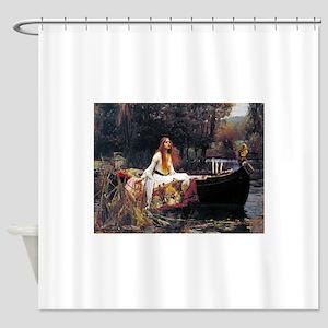 Waterhouse Lady Of Shalott Shower Curtain