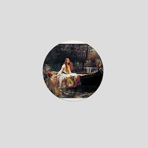 Waterhouse Lady Of Shalott Mini Button