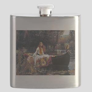 Waterhouse Lady Of Shalott Flask