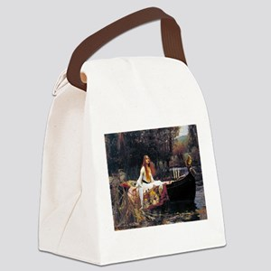 Waterhouse Lady Of Shalott Canvas Lunch Bag