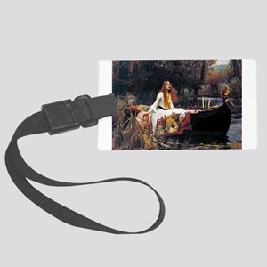 Waterhouse Lady Of Shalott Luggage Tag