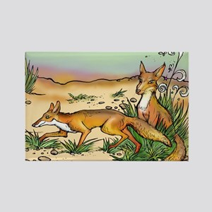 Prairie Fox Magnets