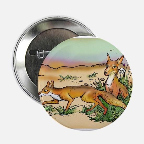 """Prairie Fox 2.25"""" Button"""