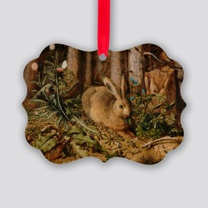 Hare In The Forest Ornament
