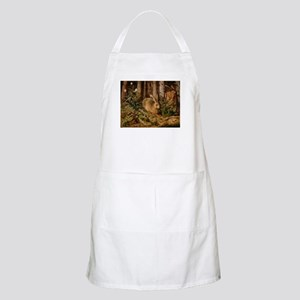 Hare In The Forest Apron