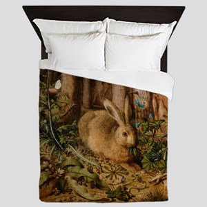 Hare In The Forest Queen Duvet