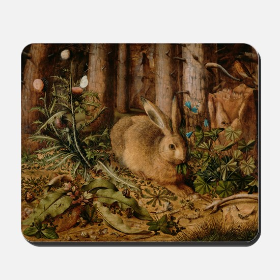 Hare In The Forest Mousepad