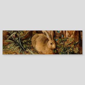 Hare In The Forest Bumper Sticker