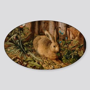 Hare In The Forest Sticker