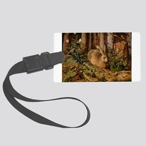 Hare In The Forest Luggage Tag