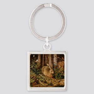 Hare In The Forest Keychains