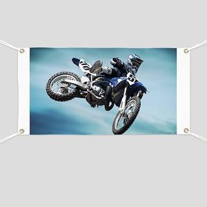 Dirt Bike Jump Banner