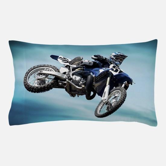 Dirt Bike Jump Pillow Case