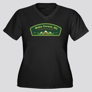 Wake Forest Parks Kick Ass Plus Size T-Shirt