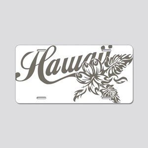 Hawaii Aluminum License Plate