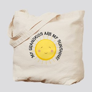 Grandkids Are Sunshine Tote Bag