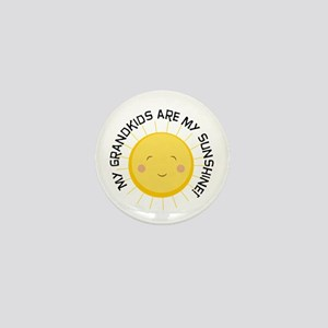 Grandkids Are Sunshine Mini Button