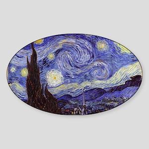 Van Gogh Starry Night Sticker