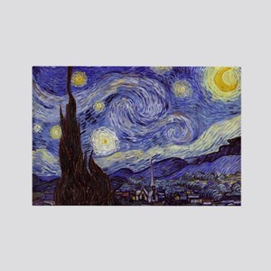 Van Gogh Starry Night Magnets