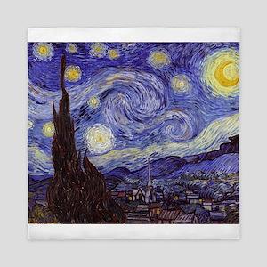 Van Gogh Starry Night Queen Duvet