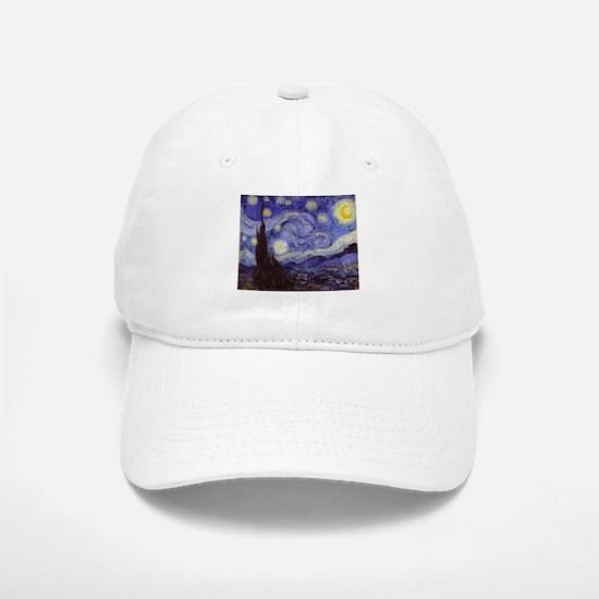 Van Gogh Starry Night Baseball Baseball Baseball Cap